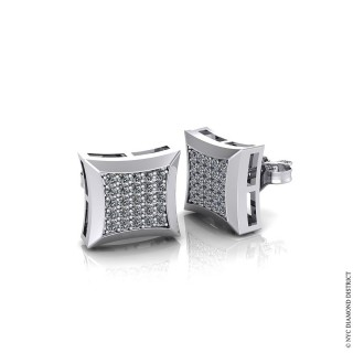Cluster Pave Earrings