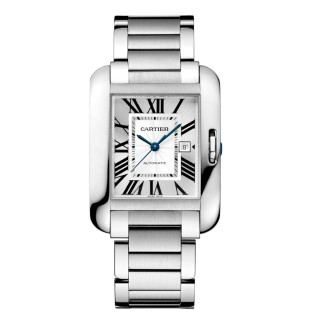 Cartier Watches - Tank Anglaise Stainless Steel
