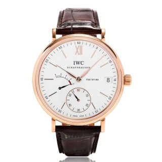 IWC Watches - Portofino Hand-Wound Eight Days - Red Gold